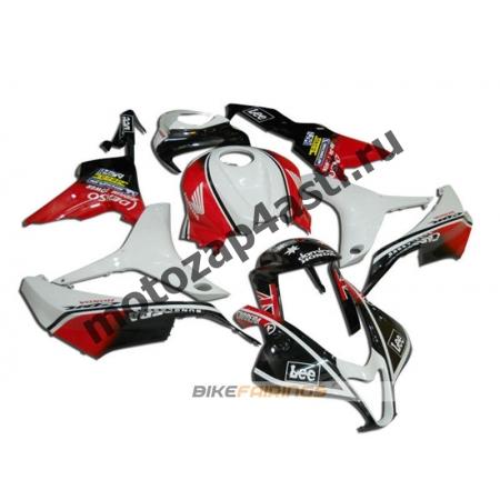 Комплект Мотопластика Honda CBR600rr 07-08 Красно-бело-черный-2.