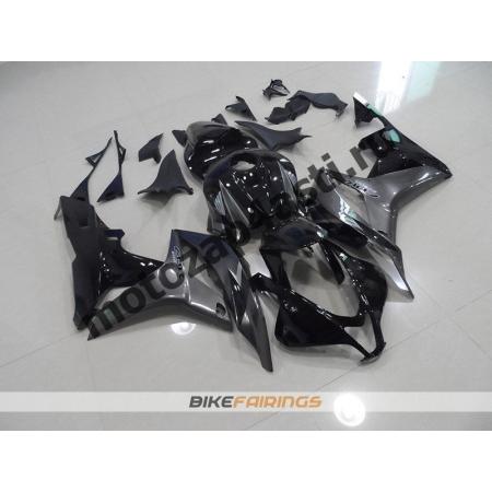 Комплект Мотопластика Honda CBR600RR 07-08 Черно-серый.