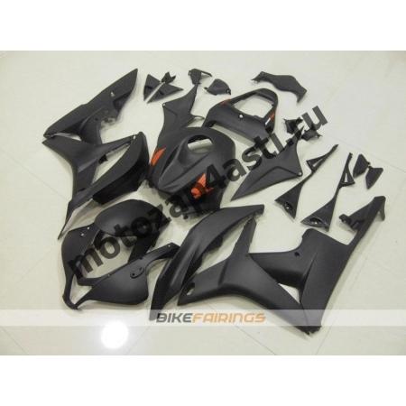 Комплект Мотопластика Honda CBR600RR 07-08 Черный матовый.
