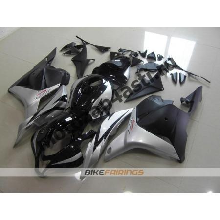 Комплект Мотопластика Honda CBR600rr 09-12 Серо-Черный.