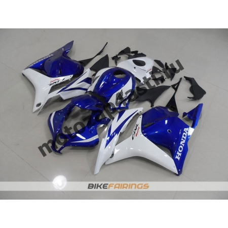 Комплект Мотопластика Honda CBR600rr 09-12 Бело-синий.