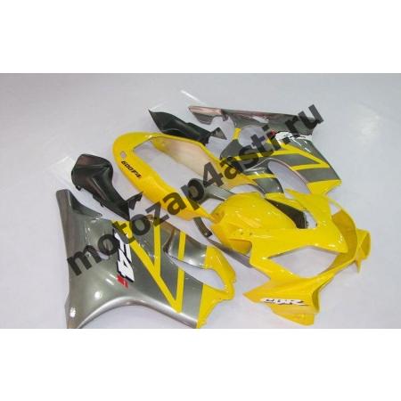 Комплект пластика для мотоцикла Honda CBR600 F4i 01-07 Желто-серый.