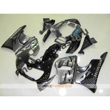 Комплект пластика Honda CBR900RR 96-97 Серо-черный.