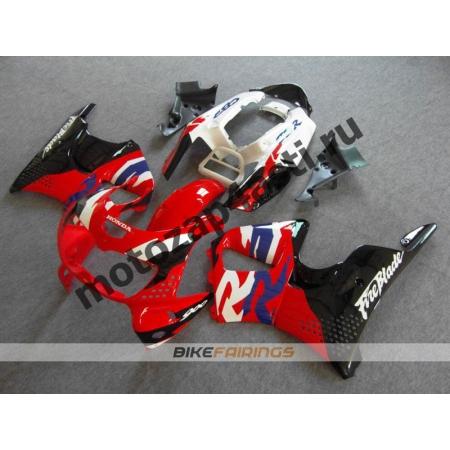 Комплект пластика Honda CBR900RR 96-97 Красно-бело-черный.