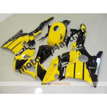 Комплект пластика Honda CBR900RR 94-95 Черно-Желтый.
