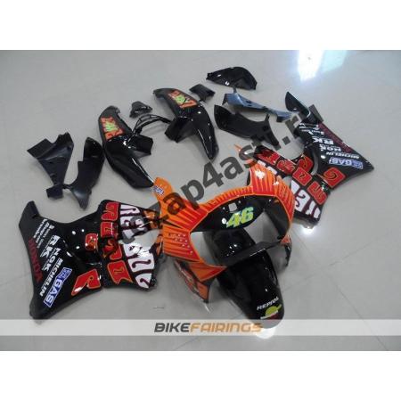 Комплект пластика Honda CBR900RR 98-99 V.ROSSI.