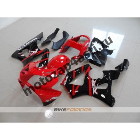 Комплект Мотопластика Honda CBR929RR 00-01 Штатный Красно-Черный.