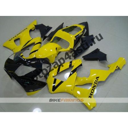 Комплект Мотопластика Honda CBR929RR 00-01 Черно-желтый-2.