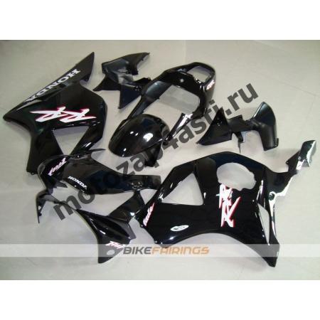 Комплект мотопластика Honda CBR954RR 2002-2003 Черный-1.