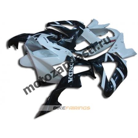 Комплект Мотопластика Honda CBR929RR 00-01 Бело-Черный.