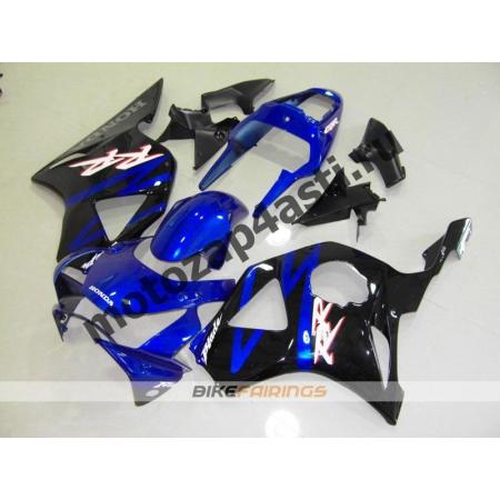 Комплект Мотопластика Honda CBR954RR 2002-2003 Черно-синий.