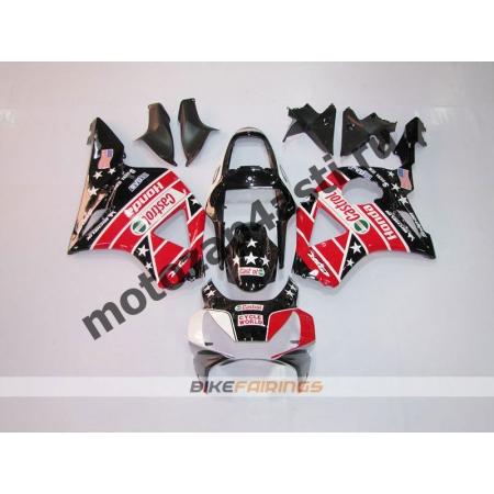 Комплект мотопластика Honda CBR954RR 2002-2003 CASTROL-1.