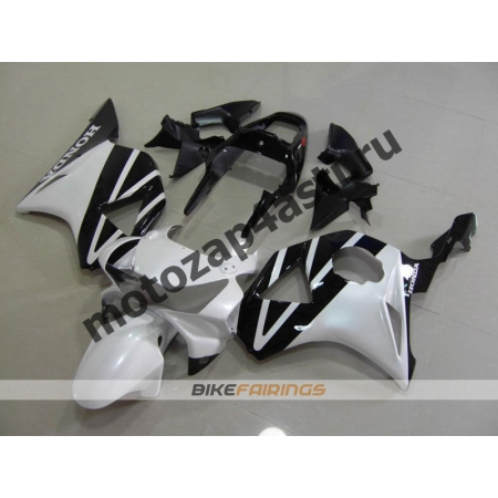 Комплект Мотопластика Honda CBR954RR 2002-2003 Черно-белый.
