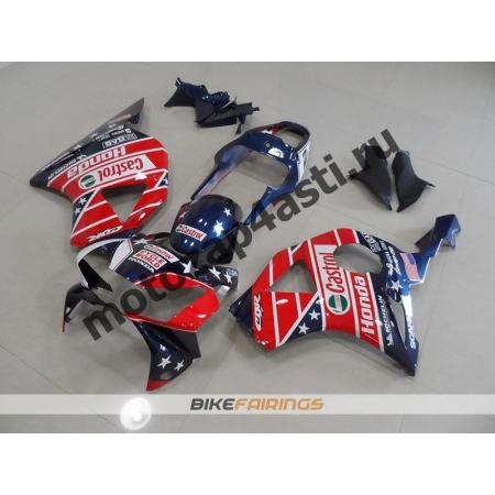 Комплект мотопластика Honda CBR954RR 2002-2003 CASTROL-2.