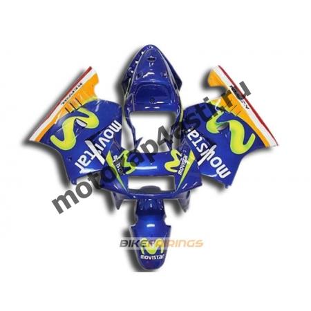 Комплект Мотопластика Honda NSR250 MC21 MOVISTAR.