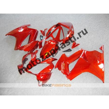 Комплект мотопластика Honda VFR800 02-12  Красный.