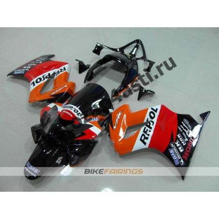 Комплект мотопластика Honda VFR800 02-12  REPSOL-1.