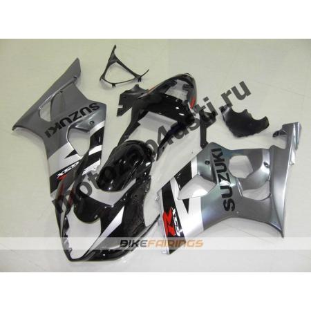Комплекты пластика Suzuki GSXR1000 03-04 Черно-серый.