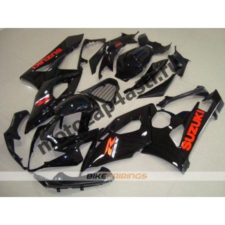 Комплекты пластика Suzuki GSXR1000 05-06 Черный.