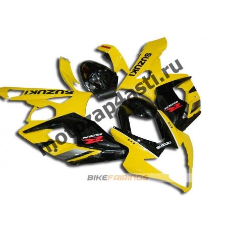 Комплекты пластика Suzuki GSXR1000 05-06 Черно-желтый.