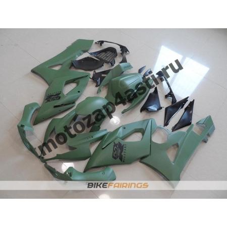 Комплекты пластика Suzuki GSXR1000 05-06 Зеленый матовый.