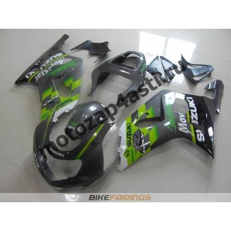 Комплект мотопластика Suzuki GSXR600-750 01-03,GSXR1000 00-02 MOVISTAR-2.