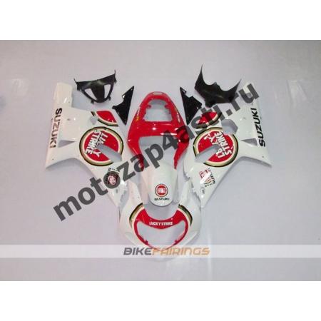 Комплект мотопластика Suzuki GSXR600-750 01-03,GSXR1000 00-02 LUCKY STRIKE.