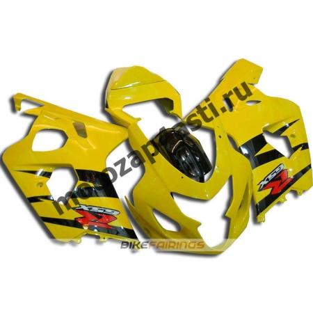 Комплект пластика Suzuki GSXR600-750 04-05 Желтый-2.