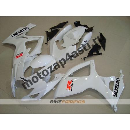 Комплект пластика Suzuki GSXR600-750 06-07 Белый.