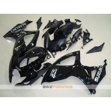 Комплекты пластика Suzuki GSXR600-750 06-07 Черный.