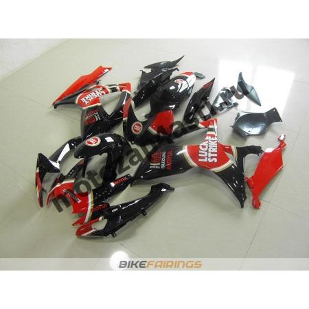 Комплект пластика Suzuki GSXR600-750 06-07 Lucky Strike-4.