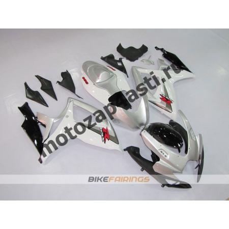 Комплекты пластика Suzuki GSXR600-750 06-07 Серебряный-2.