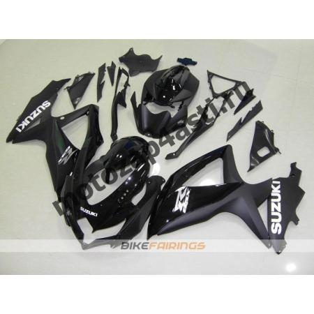 Комплекты пластика Suzuki GSXR600-750 08-09 Черный.