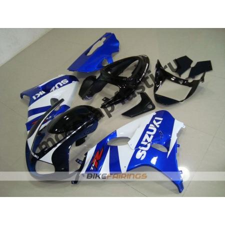 Комплекты пластика Suzuki TL1000R 98-02 Бело-Синий.