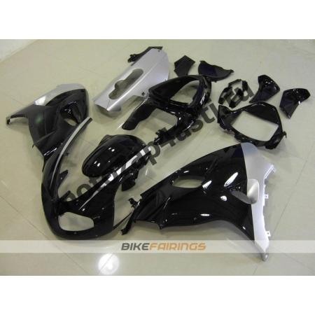 Комплекты пластика Suzuki TL1000R 98-02 Черно-Серебристый.