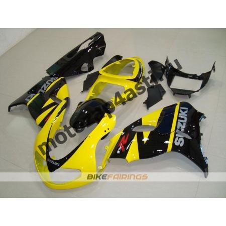 Комплекты пластика Suzuki TL1000R 98-02 Желто-черный-1.