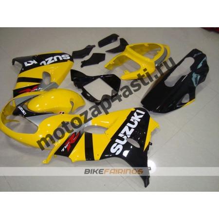 Комплекты пластика Suzuki TL1000R 98-02 Желто-черный-2.