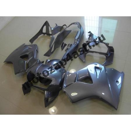 Комплект мотопластика Honda VFR800 98-01  Серый.