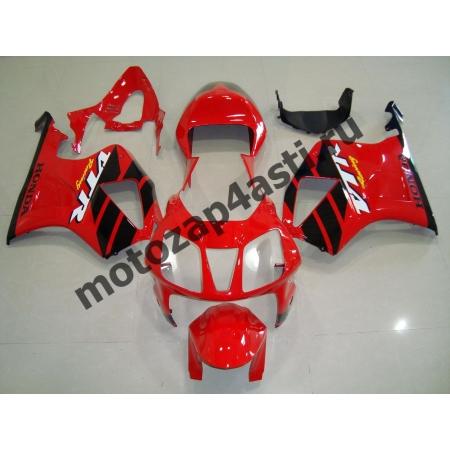 Комплект пластика Honda VTR1000 SP1/SP2 Штатный Красно-Черный.
