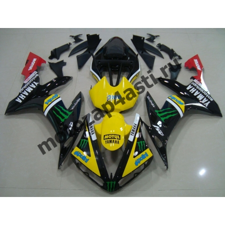 Комплект Пластика Yamaha R1 04-06 Monster Energy