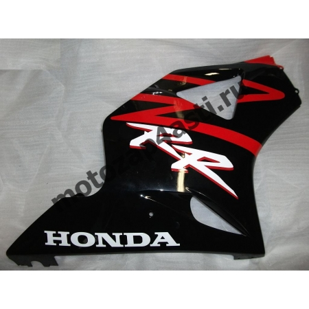 Боковинка Honda CBR954rr 02-03 правая Цвет: Черно-Красный