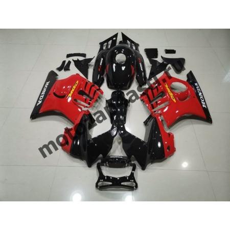 Комплект мотопластика Honda CBR600F3 95-96 Черно-Красный.