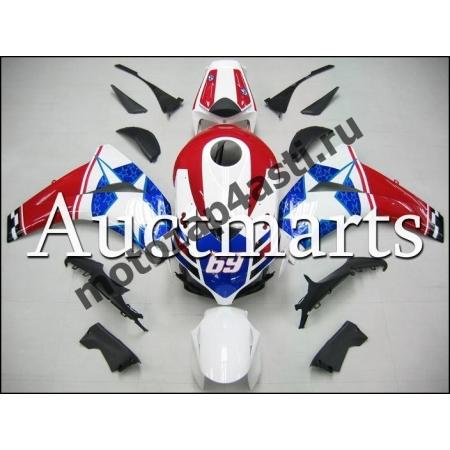 Комплект пластика Honda CBR1000rr 2008-2011 Capitan America
