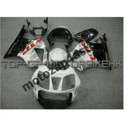 Комплект пластика Honda VTR1000 SP1/SP2 Штатный Бело-Черный