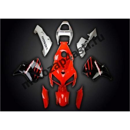 Комплект Мотопластика Honda CBR600RR 03-04 Красно-Черно-Серый штатный