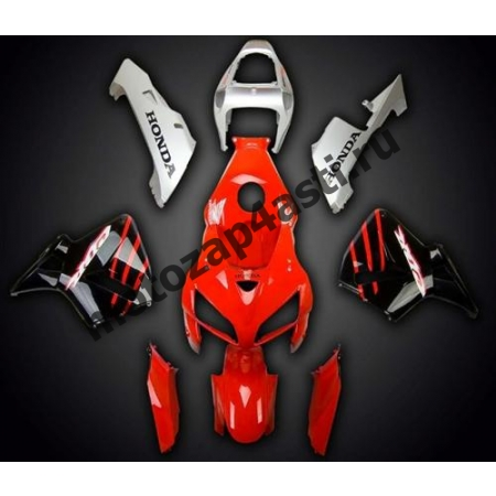Комплект Мотопластика Honda CBR600RR 05-06 Красно-Черно-Серый