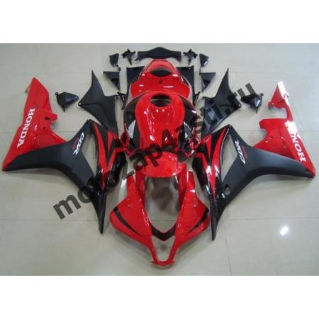 Комплект Мотопластика Honda CBR600rr 09-12 Штатный Красно-Черный.