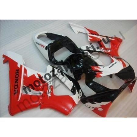 Комплект Мотопластика Honda CBR929RR 00-01 Штатный Красно-Бело-Черный.