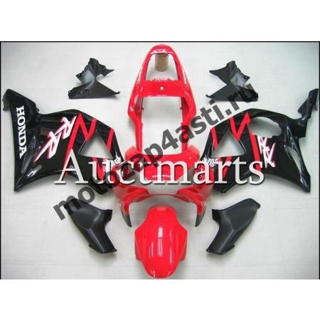 Комплект Мотопластика Honda CBR954RR 2002-2003 Штатный черно-красный.