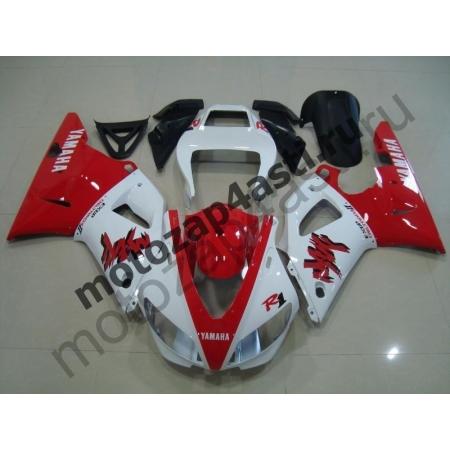 Комплект Мотопластика Yamaha R1 98-99 Бело-красный